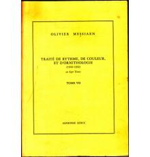 Traité de Rythme, de Couleur et d?O. VII