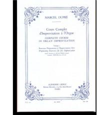 Complete Course In Organ Improvisation