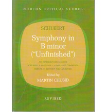 Symphony in B minor Unfinished/ Score