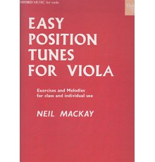 Easy Position Tunes for Viola