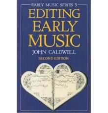 Editing Early Music