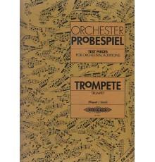 Orchester Probespiel. Trumpet