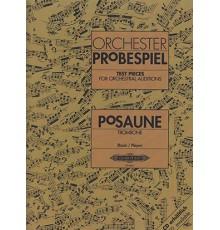Orchester Probespiel. Trombone