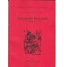 Concerto Bb Major Op. 91/ Red.Pno.