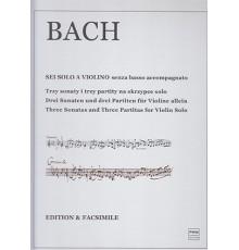 Three Sonatas And Three Partitas