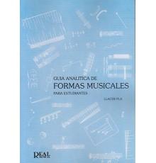 Guía Analítica de Formas Musicales