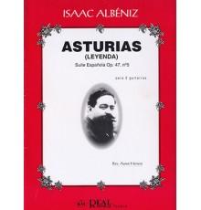 """Suite Española Op. 47 Nº 5 """"Asturias"""""""