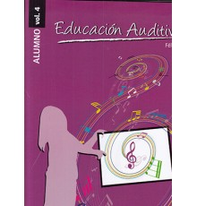 Educación Auditiva Alumno Vol. 4   CD