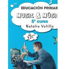 Music & M. Alumno 5 Curso   DVD Castella
