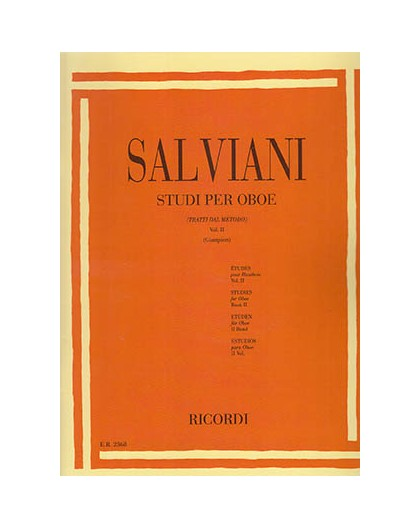 Studi per Oboe Vol. II
