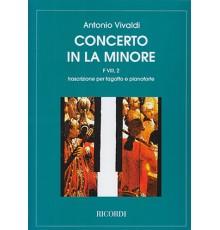 Concerto La min. RV 498-FVIII Nº2/ Red.P