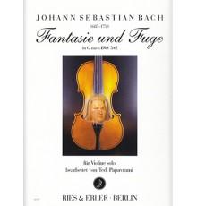 Fantasie und Fuge G Dur BWV 542