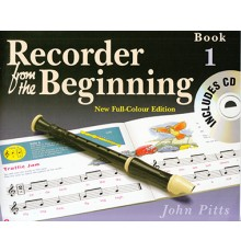Recorder from the Beginning Book 1   CD