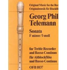Sonata F minor
