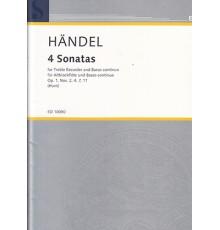 4 Sonatas Op.1. Nos. 2,4,7,11