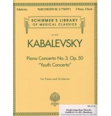Piano Concerto Nº 3 Op. 50