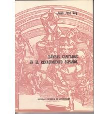 Danzas Cantadas en el Renacimiento Españ