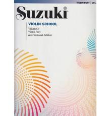Suzuki. Violin Vol. 3 International