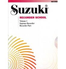 Suzuki Recorder School Soprano Vol. 1