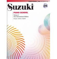 Suzuki Piano School Vol.2   CD
