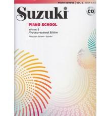 Suzuki PIano School Vol.1   CD