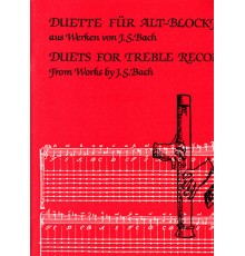 Duets for Treble Recorders. From Works