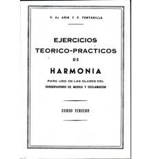 Estudios de Harmonía Vol.3