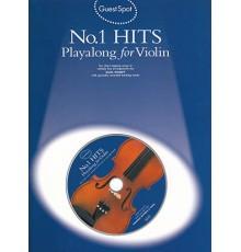 Nº 1 Hits Playalong Violin