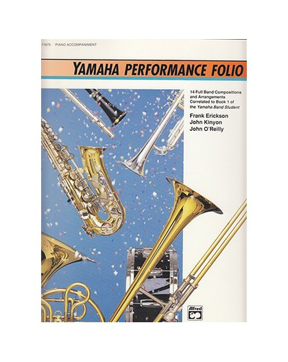 Yamaha Perfomance Folio. Piano Accompani