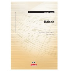 Balada/Red. Pno.
