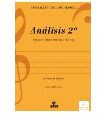Análisis 2º. Libro del Profesor/ Audio