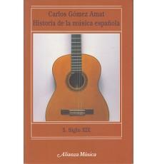 Historia de la Música Española 5. Siglo