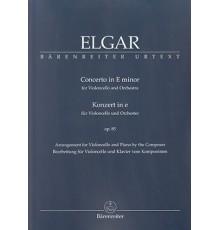 Concerto E minor Op.85/ Red.Pno.