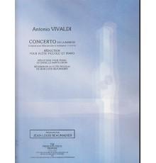 Concerto La mineur F. VI Nº 9/ Red. Pno.