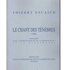 Le Chant des Tenebres/ Red.Pno.
