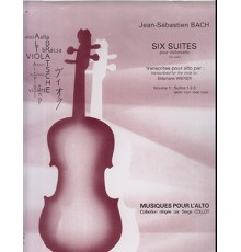 Six Suites pour Alto Suites 1.2.3. Vol.1