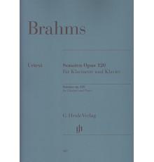 Sonaten Klavier und Klarinette Op. 120
