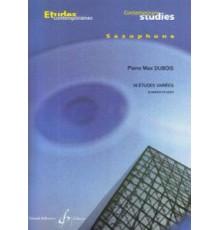 16 Études Variées