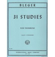 31 Studies for Trombone