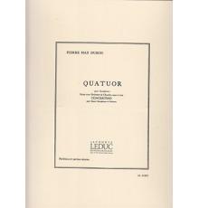 Quatuor/ Score & Parts