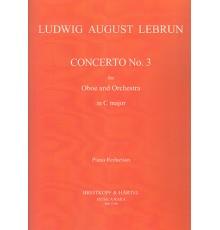 Concerto in C Nº 3/ Red.Pno.