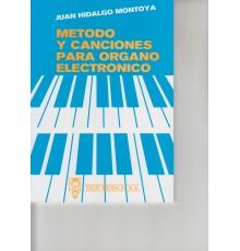 Método y Canciones para Organo Electróni