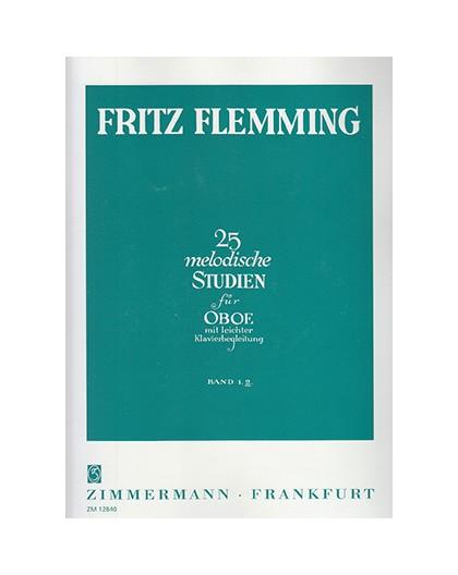 25 Melodische Studien fur Oboe Vol. 2º