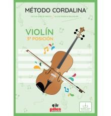 Método Cordalina Violín 3ª Posición/