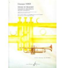 Messe de Requiem. Fragmentes Mélodiques