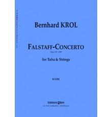 Falstaff-Concerto Op. 119/ Red. Pno