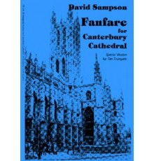 Fanfare for Canterbury Cathedral