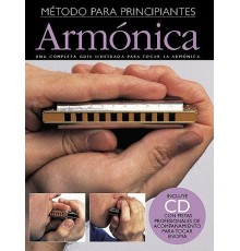 Empieza a Tocar Armónica   CD