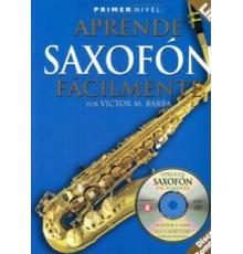 Aprende Saxofón Fácilmente   CD
