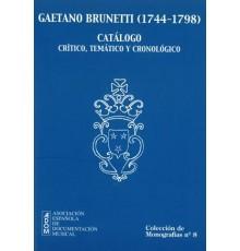 Gaetano Brunetti (1744-1798) Catálogo Cr